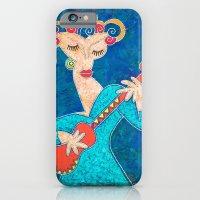 Red Guitar iPhone 6 Slim Case