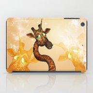 iPad Case featuring The Unicorn Giraffe by Nicky2342