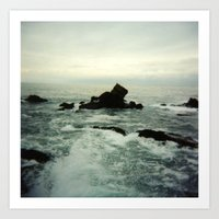 Window to sea Art Print