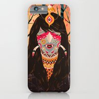 iPhone & iPod Case featuring The Tree Witch by uberkraaft