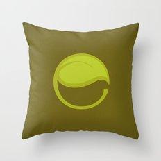 East Leaf Lake Throw Pillow