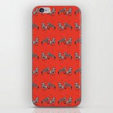 Pattern of The Royal Tenenbaums iPhone & iPod Skin