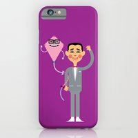 iPhone & iPod Case featuring Pee-wee Herman by Mouki K. Butt