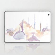 Watercolor landscape illustration_Istanbul - Saint Sophia Laptop & iPad Skin