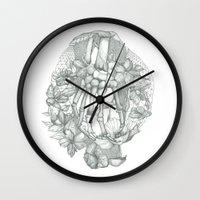 P O P P Y Wall Clock