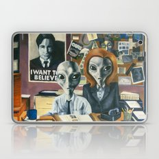 X-Files - Agent Grey Laptop & iPad Skin