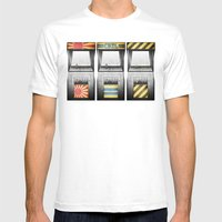 Arcade Machines Mens Fitted Tee White SMALL