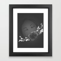 Faded III Framed Art Print