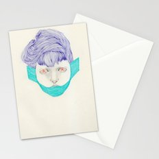 Untitled Head Stationery Cards