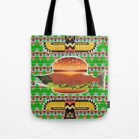 Alaska Burger Tote Bag
