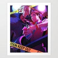 Guilty Love Art Print