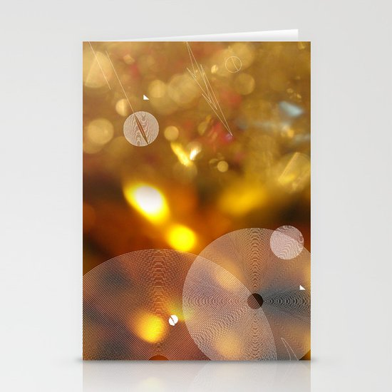 Gold Stationery Card