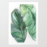 Art Print featuring Leaf Veins by Alicia Bazan