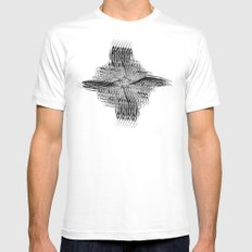 APATRAPYA Mens Fitted Tee White SMALL