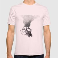 lip girl Mens Fitted Tee Light Pink SMALL