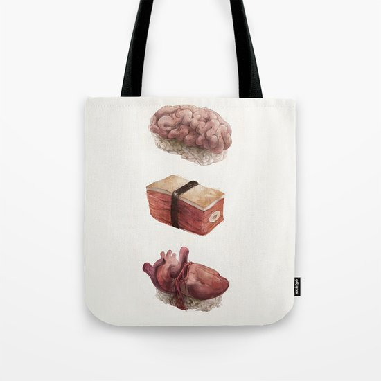 Fresh Flesh Tote Bag