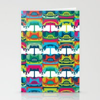 Chicken Bus - 1 Stationery Cards
