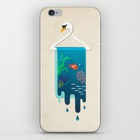 Swan Hanger iPhone & iPod Skin