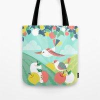 Summer Orchard Tote Bag