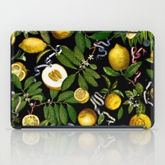 LEMON TREE Black iPad Case