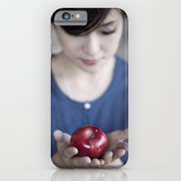 iPhone & iPod Case featuring Apple, My Sweet? (Snow White) by Rebecca Loomis