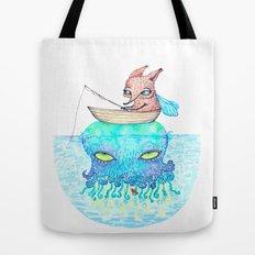 Summer fishing Tote Bag