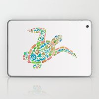Surf Turtle Laptop & iPad Skin