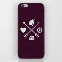 Sugar And Spice Compass iPhone & iPod Skin