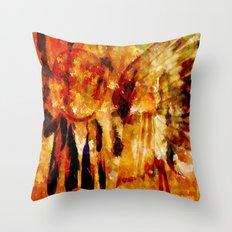 ABSTRACT-Dreamcatcher Throw Pillow