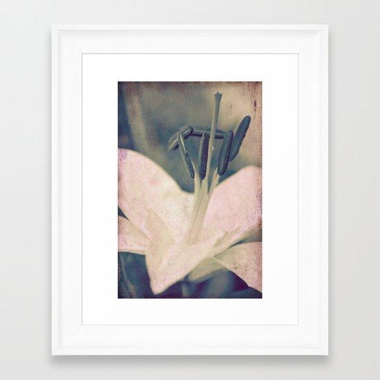 lily Framed Art Print
