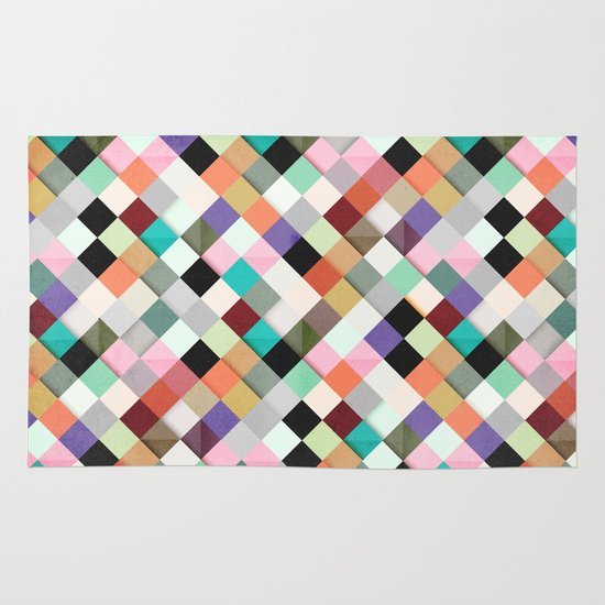 Pass this Pastels Area & Throw Rug