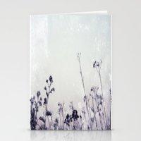 Landscape 1 (cold tones) Stationery Cards