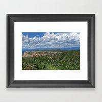 Clouds Over Mesa Verde C… Framed Art Print