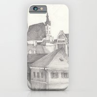 iPhone & iPod Case featuring The Magic Town by heryart