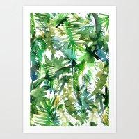 VIBE Of The Jungle  {A-g… Art Print