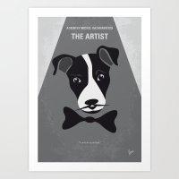 No609 My The Artist Mini… Art Print