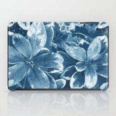 My blue leaves iPad Case