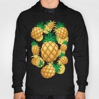Pineapple Juicy Pattern Hoody