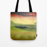 Fields of Grain Tote Bag