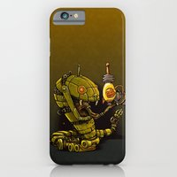 iPhone & iPod Case featuring Robot Reptile Raygun by Billy Allison