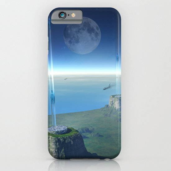 space elevator - babylon transfer station  iPhone & iPod Case