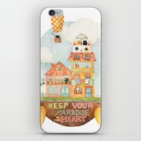 Keep your paradise in your heart iPhone & iPod Skin