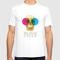 CYCLE Mens Fitted Tee White SMALL