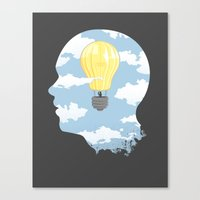 Bright Idea Canvas Print