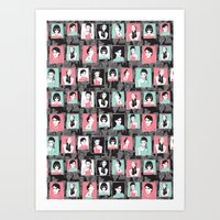 Fashion Crew Art Print
