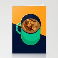 Mug Of Coffee Stationery Cards