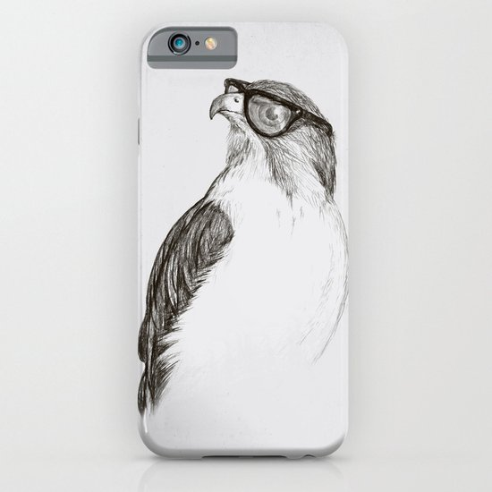 Hawk with Poor Eyesight iPhone & iPod Case