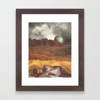 The Life And Death Of St… Framed Art Print