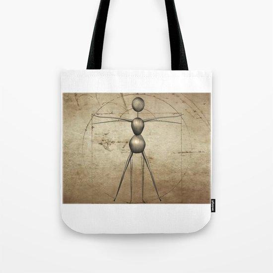 Vitruvian AntWoman Tote Bag