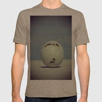 Yippe-Calle. Mens Fitted Tee Tri-Coffee SMALL
